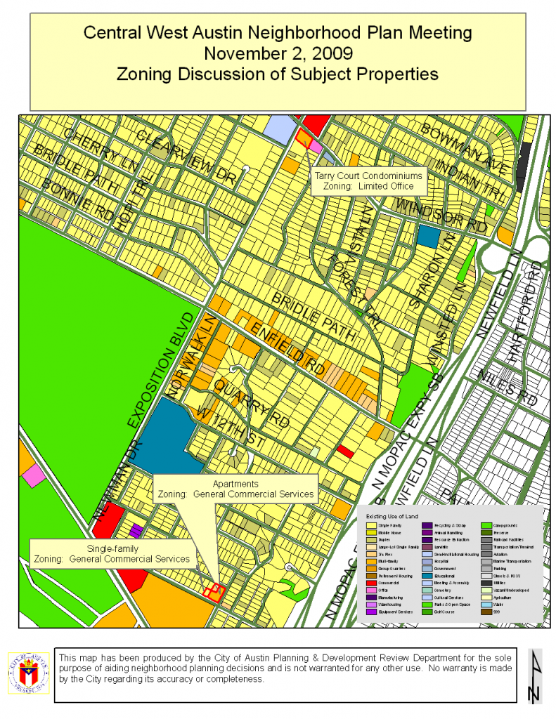 Map for November 2 Zoning Discussion